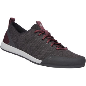 Black Diamond Circuit Shoes Women anthracite-bordeaux